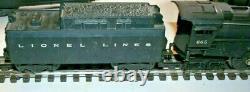 Lionel 665 Hudson Avec 6026w Tender En Très Bon État
