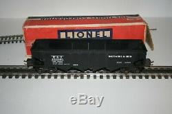 Lionel Rare 2956 Semi Scale Hopper En Tres Bon Etat En Ob, Très Propre