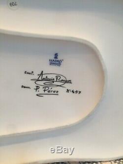 Lladro 1776 Vaincu By Love Ltd Edition Avec La Base En Bois Mint Condition