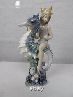 Lladro 1821 Prince Of The Mint Condition Sea Limited Edition No. 1464
