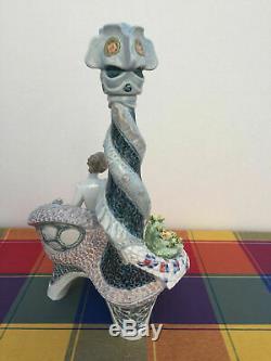Lladro 6660 Gaudi Retraitée Glazed Limited Edition Parfait État