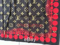 Louis Vuitton Écharpe Édition Limitée Yayoi Kusama Très Bon État