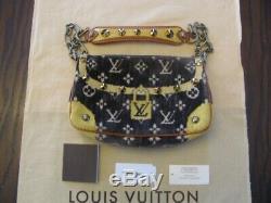 Louis Vuitton Trompe L'oeil Édition Limitée 2004 Pochette Excellent Condition