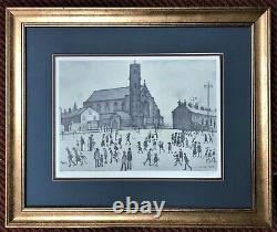 Ls Lowry St Mary's Beswick Signé Édition Limitée Impression Great Condition