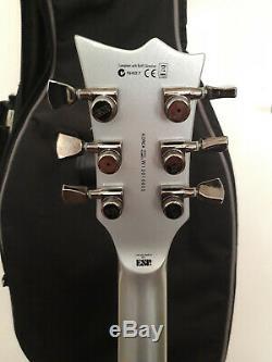 Ltd Argent Esp Ec-1000 Burst Guitare En Bon État Et Avec Hardcase