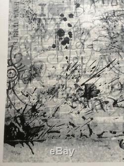 M. Brainwash'the Wall 'rare Imprimé Édition Limitée Bleu État Neuf