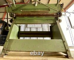 Manuel F. J. Edwards Ltd 3ft 16g Box & Pan Sheet Metal Folder En Bon État