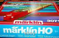 Marklin Allemand 3071 Tee Trains Mis En Bon État Dans La Boîte D'origine