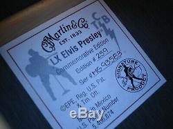 Martin Petit Martin LX Elvis Presley Limited Edition # 259 Excellent État