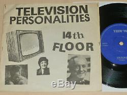 Mega Television Personalities Rare Orig 7 14ème Étage Bon État Punk