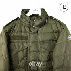 Mens Moncler Jacket'zacarie Modèle Taille 3 (m) État Fantastique