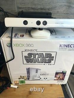 Microsoft Xbox 360 Limited Edition Kinect Star Wars Bundle 320gb. Bon État