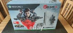 Microsoft Xbox One X 1t Gears 5 Limited Edition Console État Incroyable