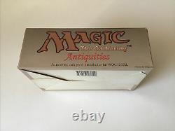 Mtg Magic Antiquités Boîte De Booster Vide Grande Condition Rare