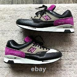 New Balance M1500ebp Black Purple Size 11 Limited Edition Excellent État