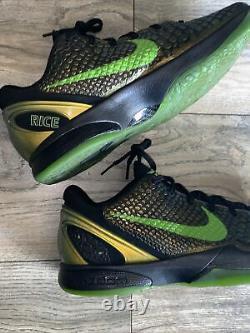 Nike Kobe 6 VI Rice Supreme Mens Taille 12 446442-301 Excellent État