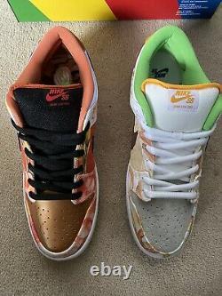 Nike Sb Dunk Low Street Hawker Size Uk 12 Flambant Neuf Mint Condition Deadstock