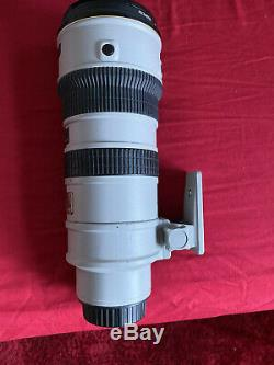 Nikon Ed Afs Vr Nikkor 70-200 F 2.8 Limited Edition Rare! Gris Mint Condition