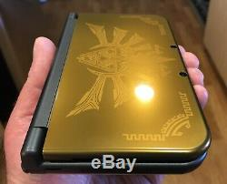 Nintendo 3ds XL Nouveau Hyrule Gold Limited Édition Rare Mint Condition