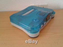 Nintendo 64 Ice Blue Limited Edition Complète Near Mint Condition N64 Pal Rare +