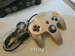 Nintendo 64 Limited Edition Console Complete Excellent État! Pal