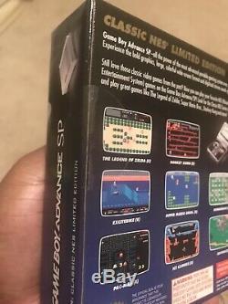 Nintendo Classic Nes Édition Limitée Game Boy Advance Sp Neuf
