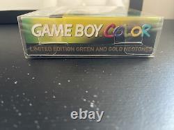 Nintendo Gameboy Couleur Ozzie Ozzie Ozzie Edition Limitée (mint Condition!)