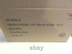 Nzg 889.01 Komatsu Wa 1200 Chargeur De Roues Blanc 150 Excellent État