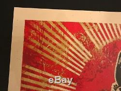 Obtenir Un Emploi Shepard Fairey Signé / Numéroté Mint Condition