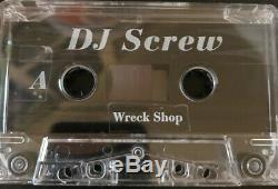 Og Mega Wreck Rare Dj Vis Boutique Transparent Ruban De 7717 Nm Condition