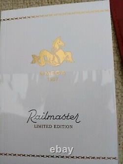Omega Seamaster Railmaster Trilogy Automatic Ltd Edition Montre- État De La Menthe