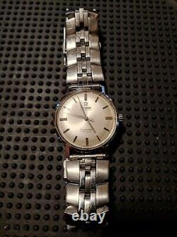 Omega' Vintage Homme 1965 Seamaster 550 Cal. Service'd. Conditions Polies A-1