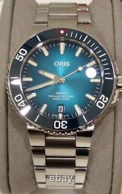 Oris Aquis Clean Ocean Limited Edition 39.5 Regarder Presque Parfait État