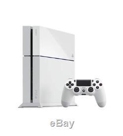 Parfait État Ps4 Playstation 4 Limited Edition Glacier Blanc Console 500go