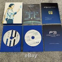 Persona 3 L'édition Limitée Du Film Blu-ray Complet 1-4 Set Rea Bon État