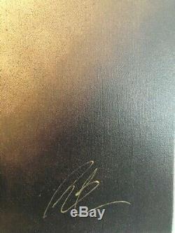 Peter Smith Canvas Edition Limitée Le Jeu Qui Pleure Avec Coa. Condition Parfaite