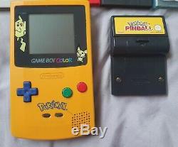 Pokemon Game Boy Color Limited Edition Plus 9 Jeux Pokemon Great Condition