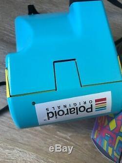 Polaroid Édition Limitée Appareil Photo 96 Cam Fresh Blue Nice Condition