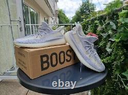 Près De L'état Parfait Adidas Yeezy Boost 350 V2 Taille Statique Royaume-uni 13