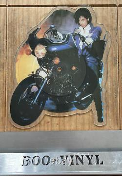 Prince Purple Rain Uk Disque D'image En Forme Mega Rare Nr Mint Condition