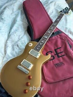 Prs Bernie Marsden Se Guitare. Ltd Edition Tout Or. Excellent État