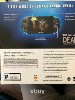 Psp Vita Walking Dead Limited Edition Bundle, Excellent État