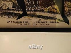 Pure Evil Limited Edition, Rare Imprimer Signée Et Encadrée, Parfait État