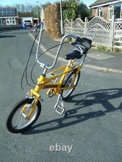 Raleigh Chopper Jaune Mk3 Vélo Vélo Édition Limitée Grande Condition