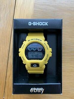 Rare Casio G-shock G-6900a Tough Solar Yellow Excellent État 100% Authentique
