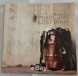 Rare! Pearl Jam Lost Chiens E3 85738 Vinyl Lp, 3 Enregistrement Vedder, Nice État
