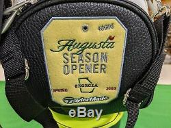 Rare Taylormade R7 Masters Personnel Limited Edition Sac De Golf 2006 Forme Des Grands
