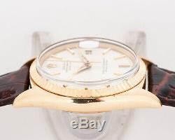 Rare Vintage 1963 Rolex Datejust 18k Ref. 1601 Du Domaine! Condition Excellente