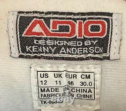 Rareadio Kenny Anderson V2 Mens Taille 12 Excellente Condition Préowned 9.5/10