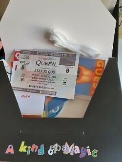 Reine. Wembley'86 Roadie Cube. Complète Et Dans Des Conditions Parfaites